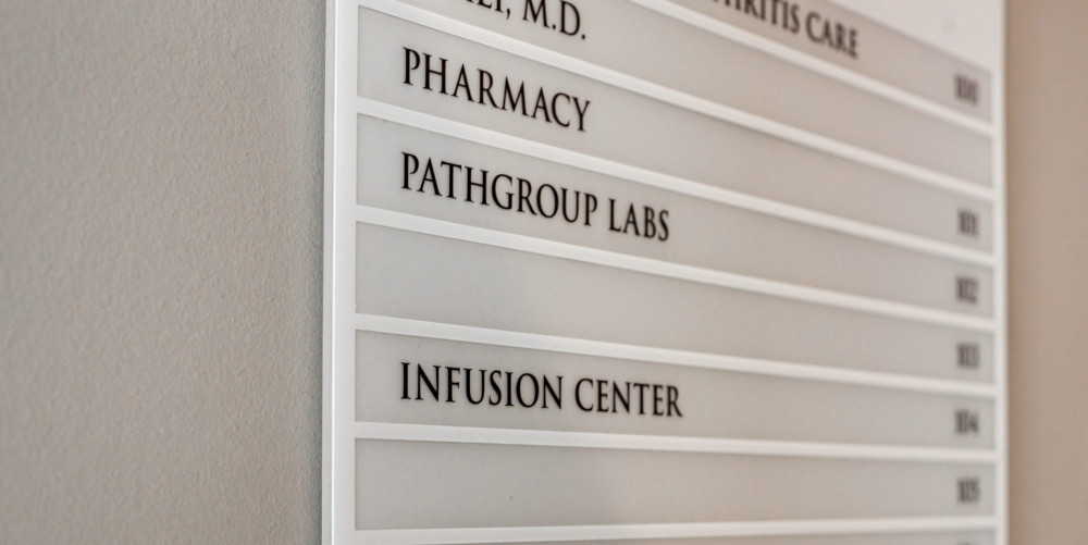 A stunning example of one of our Outdoor Medical Office Signs - directory