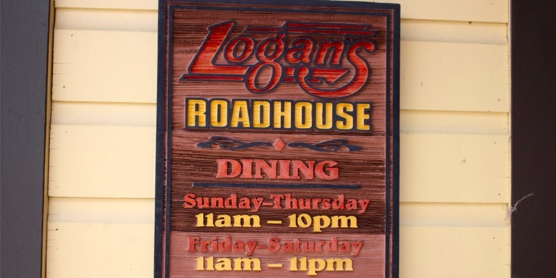 custom restaurant sign logans